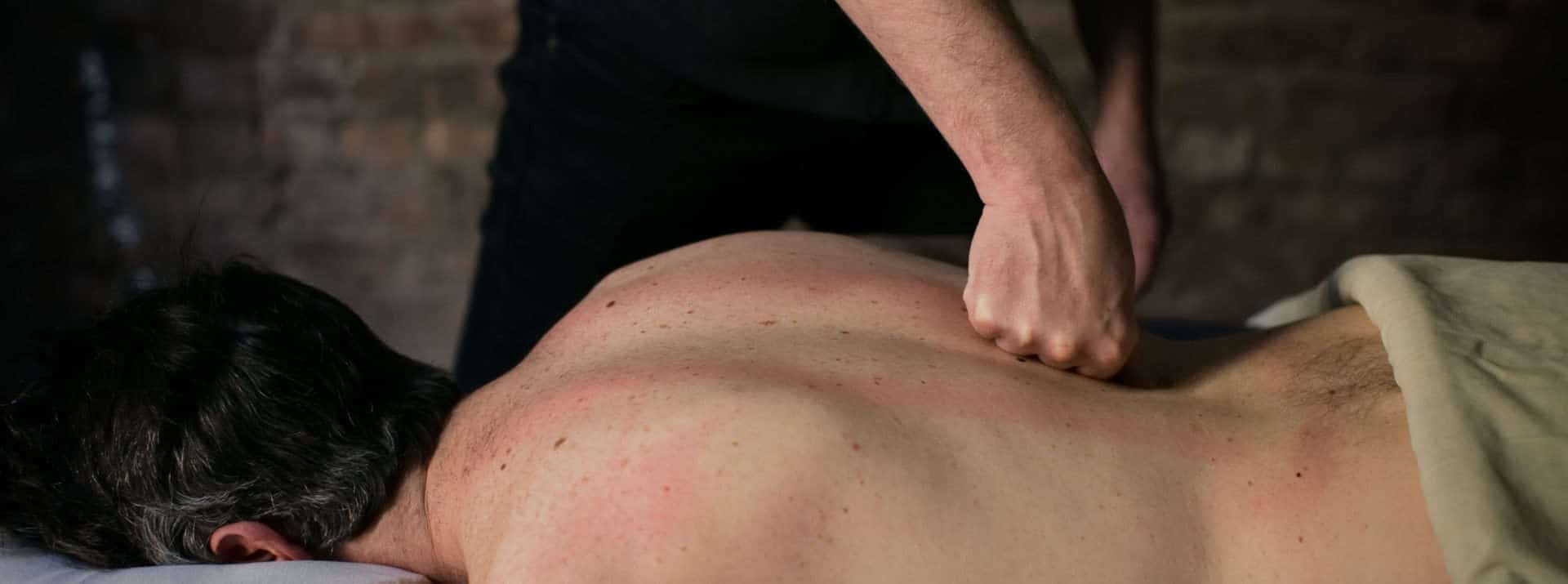 Every massage is customized to your individual needs