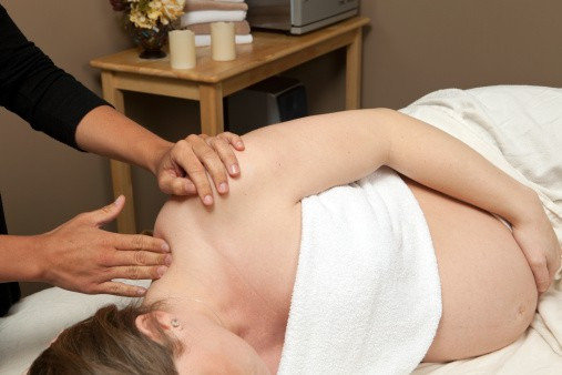 Prenatal massage and pregnancy massage therapy at Bodyworks DW