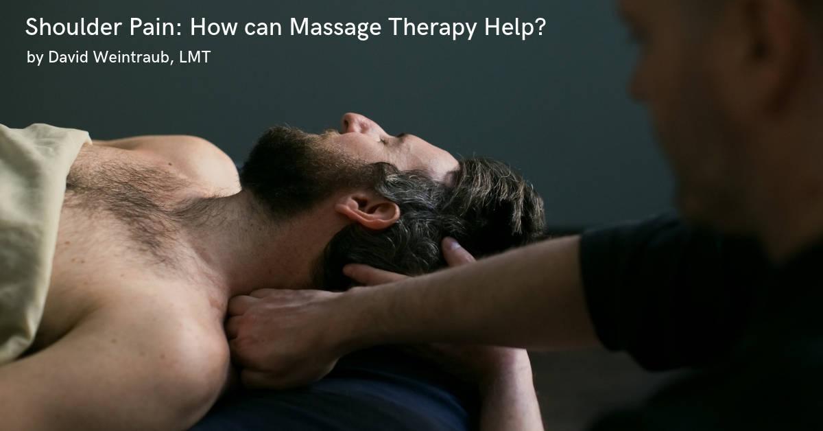 Shoulder Pain Massage at Bodyworks DW in New York City