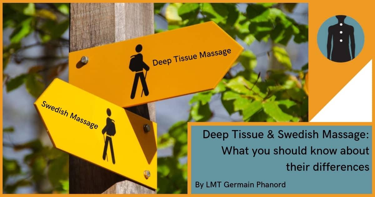 swedish massage & deep tissue massage